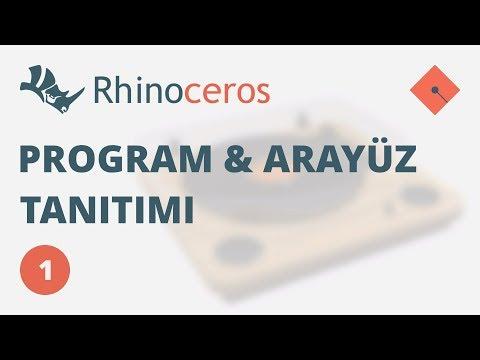 Yakin Kampus – Rhinoceros 4 Ders 1 – Program ve Arayüz Tanıtımı (Türkçe)
