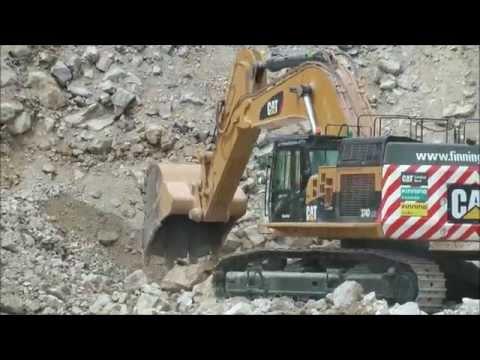 Cat 375 LME Excavator @ Hillhead 2014