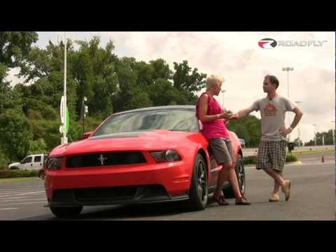 RoadflyTV - 2012 Ford Mustang Boss 302 Road Test & Review