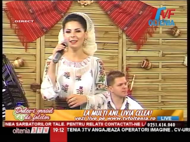 Livia Celea si Taraful lui Streata - Mai neicuta, mai gorjene - Live 2013