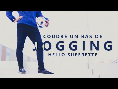 COUDRE UN PANTALON de JOGGING - TUTO COUTURE SIMPLE & SANS PATRON