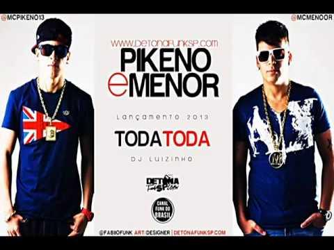 Mc Pikeno e Menor - Toda Toda (Audio Oficial) @Teteu_1998