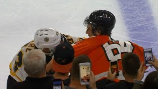 Nolan Patrick fires up fans with first fight after Flyers tussle with Bruins