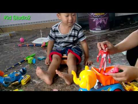 Cá Vàng Bơi Trong Bể Nước - nhạc thiếu nhi và bộ đồ chơi nhà bếp nhật bản - kidstudio2