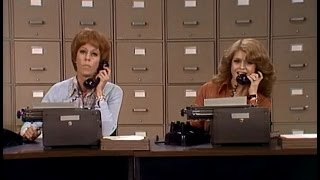 The Typists from The Carol Burnett Show (full sketch)