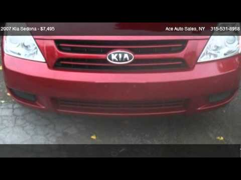 2007 Kia Sedona LX - for sale in Penn Yan, NY 14527