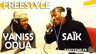 YANISS ODUA & SAÏK - Freestyle at PartyTime Radio Show