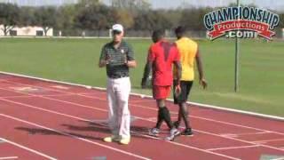 Clyde Hart's 200/400M Sprint Training Program
