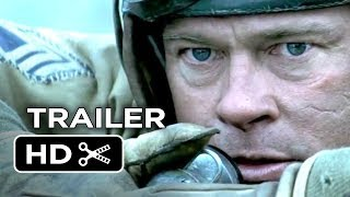 Fury Official Trailer (2014) Brad Pitt, Shia LaBeouf War