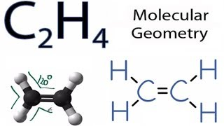 What is the molecular shape of C2H6?