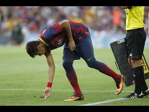 Neymar vs Levante | La Liga | 18/8/13 | HD