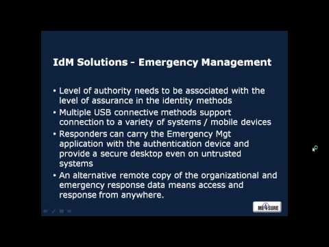 Securing the Mobile Enterprise -- Emerging Technology for Identity Assurance and Access Management