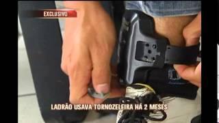 Jovem detento explica como burlou o sistema de tornozeleira eletr�nica