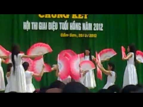 Múa quạt - Giấc mơ trưa - 10A2-THPT Sầm Sơn