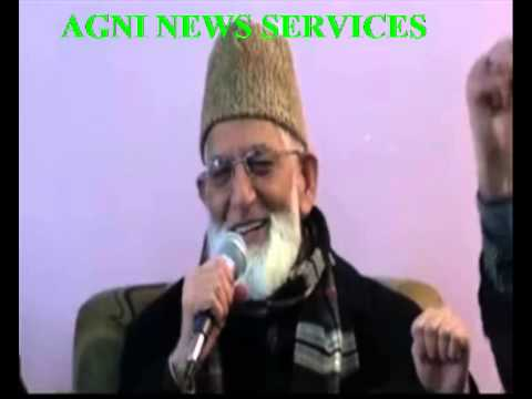 SRINAGAR .. GEELANI SAYS THAT MODI KNOWS WHO CAME TO MEET HIM