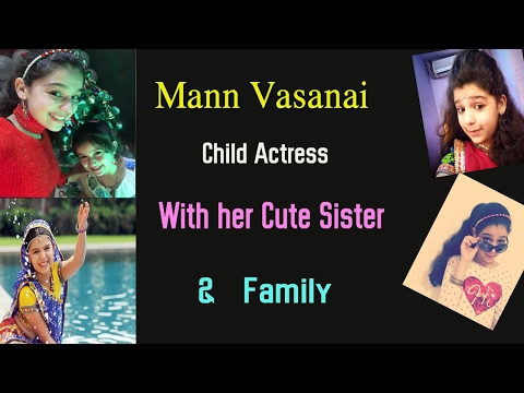 Mann Vasanai Child Actress Real life Family Photos
