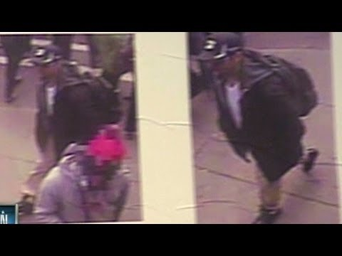 FBI releases photos and video of bombing suspects
