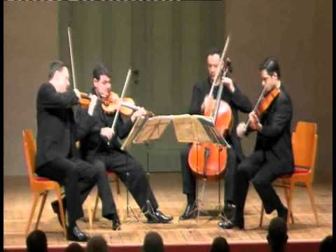 Jerusalem Quartet - J. Brahms, String Quartet Op. 67 - 3. Agitato (Allegretto non troppo)