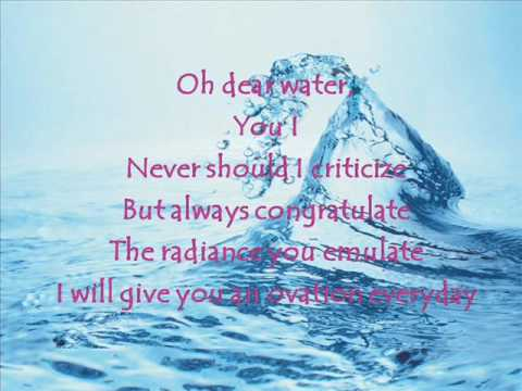 water poem 2 by young ... Water Pollution Poster In Hindi