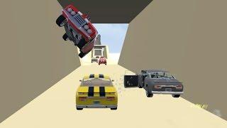 Crash Wheels - Physics of Damage!