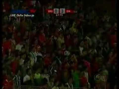 Video ALL Goals Indonesia U19 vs Brunei Darussalam U19 ( 5 - 0 ) AFF Cup U19 FT : Indonesia 5 - 0 Brunei Goals: 12 [ 1 - 0 ] Ilham Udin 27 [ 2 - 0 ] Al Qomar 30 [ 3 - 0 ] Ilham Udin 61 [ 4 - 0 ] Muchlis 86 [ 5 - 0 ] Muchlis