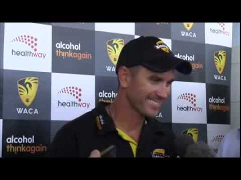 WACA Press Conference: Justin Langer 11.02.14