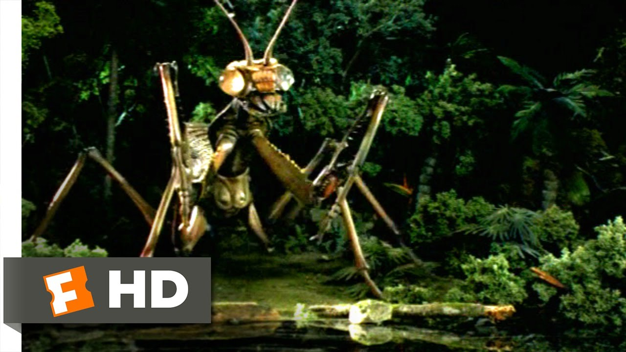 Monster Island (3/10) Movie CLIP - Attack of the Giant Praying Mantis ... C Ernst Harth