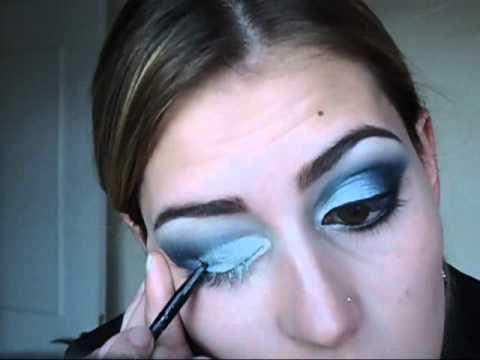 Maquiagem Azul Para Baile De Casamento ou Formatura- Barbara Thais