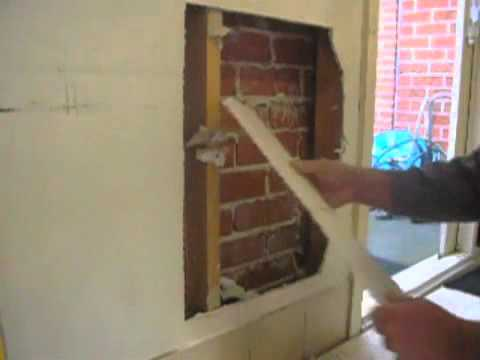 Large Plaster Hole To Wall Repair Tip Part One Youtube