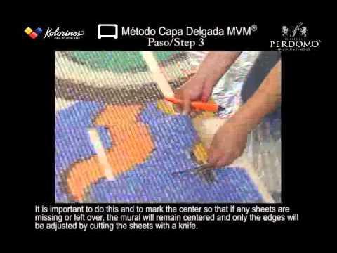 1/2 Glass Mosaic Installation / Colocación de Mosaico Veneciano Tecnikolor