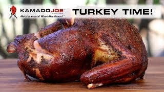 Kamado Joe Smoked Turkey
