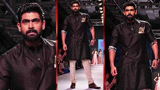 Rana Daggubati Walks The Ramp At LFW 2015