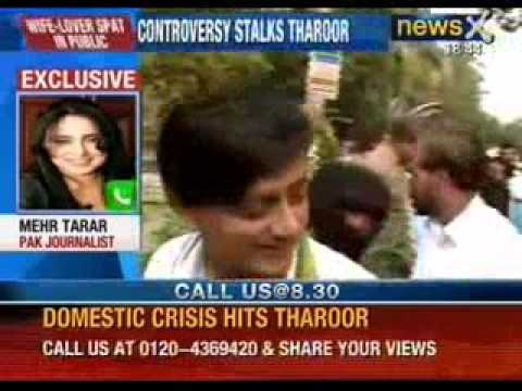 Shashi Tharoor stuck in yet another controversy on twitter - NewsX