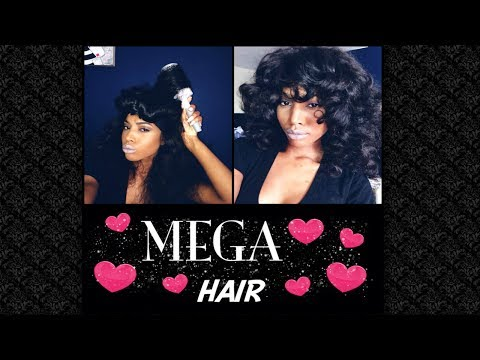 MEGA HAIR TUTORIAL !