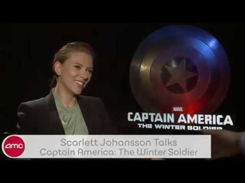 Scarlett Johansson Chats CAPTAIN AMERICA: THE WINTER SOLDIER With AMC