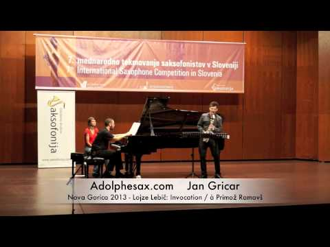 Jan Gricar – Nova Gorica 2013 – Lojze Lebi?: Invocation / à Primož Ramovš