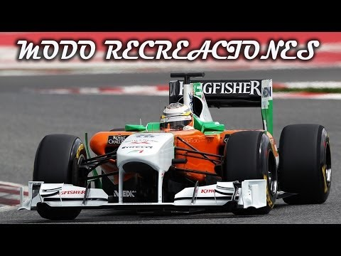 F1 2013 | Modo Recreaciones | Duelo Interno - A medio Gas | Korea Force India | Gameplay