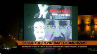 Prkujtohen viktimat e komunizmit  Top Channel Albania  News  L