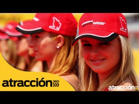 Chicas guapas en la Fórmula 1 Gran Premio de Hungría// Hot girls at F1 Hungarian Grand Prix