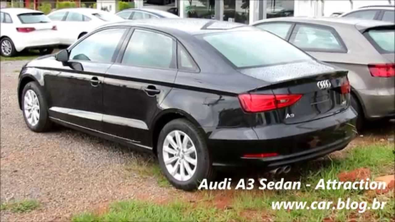 audi a3 sedan attraction youtube. Black Bedroom Furniture Sets. Home Design Ideas