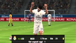 (PES 2014 PSP PARTITE) REAL MADRYT-FB BARCELONA