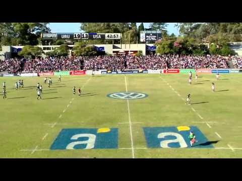 RWC Qualifier Americas Play off 1st leg Uruguay v USA