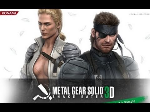 Metal Gear Solid Snake Eater 3D: E3 2011 Trailer