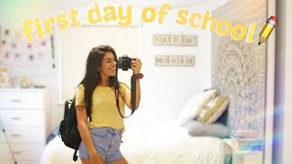 GET READY WITH ME: FIRST DAY OF HIGH SCHOOL (Junior Year) | Ava Jules