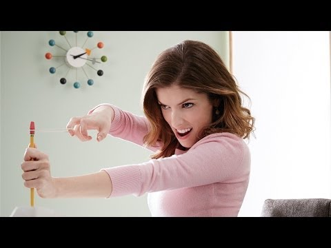 Anna Kendrick Loves Her New Desk Job