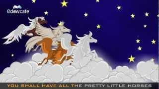 Edewcate English Rhymes & All The Pretty Little Horses & Baby Lullaby Song