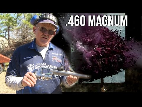 S&W .460 magnum vs. Purple cabbage in slow motion!