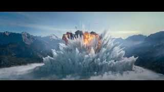 Big Game 2014 - explotion scene