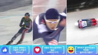 지금 가장 그리운 겨울 스포츠는 무엇인가요?