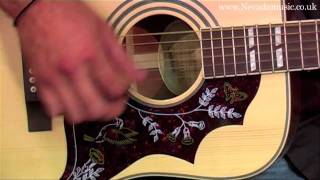 Epiphone Hummingbird Acoustic Demo Limited Edition Natural